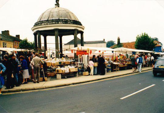 Marktplatz in Swaffham